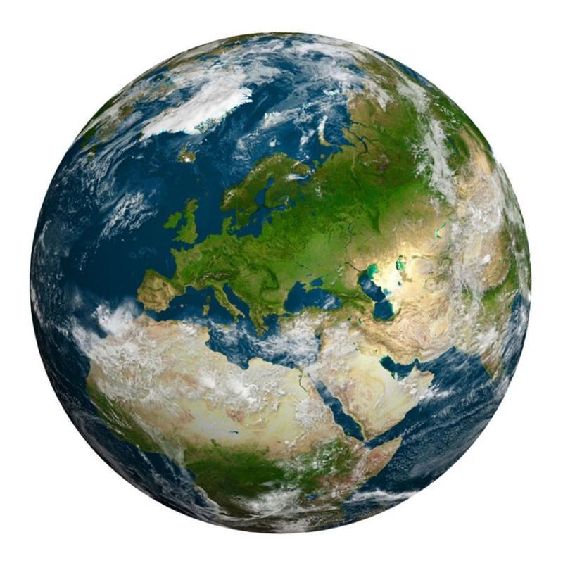 Quebra-Cabeça Redondo- A Terra - 1000 peças - Importado