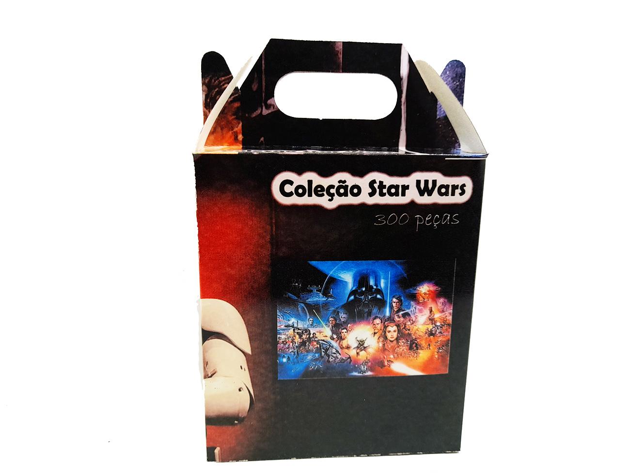 Quebra Cabeça Star Wars 252 Peças + Chaveiro Especial
