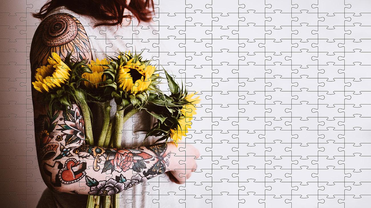 Quebra-cabeça Tatuagem de 300 peças