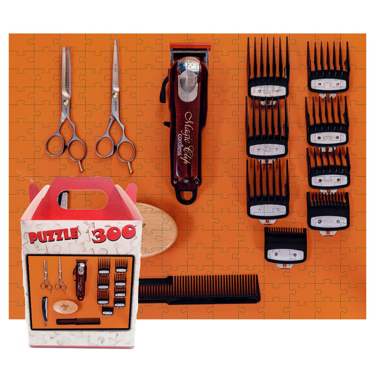 Quebra-cabeças Decorativo Barbearia de 300 peças
