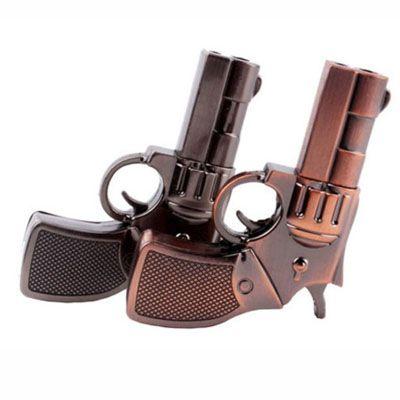 Revolver de metal - Pendrive Personalizado - 8, 16 E 32 GB