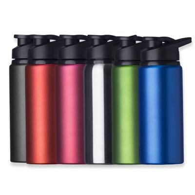 Squeeze 600ml Alumínio Fosco - Cod 12487F - 30 peças