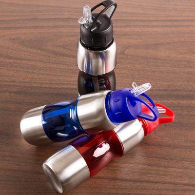 Squeeze Alumínio 600ml Personalizada - Cod 2048 - 30 peças