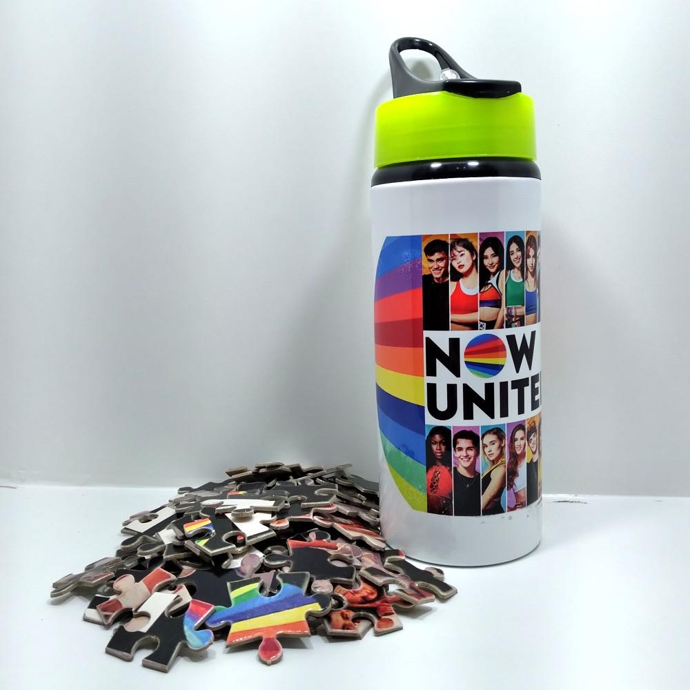 Squezze Now united color e quebra-cabeças de 165 peças