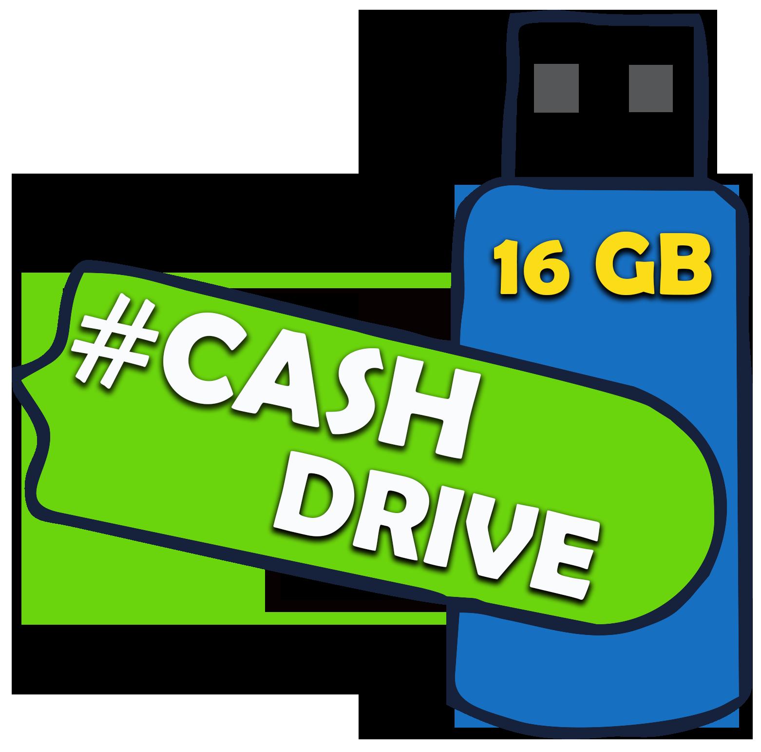 Voucher #Cashdrivecombo16gb - Para Empresas e Fotógrafos 16 GB