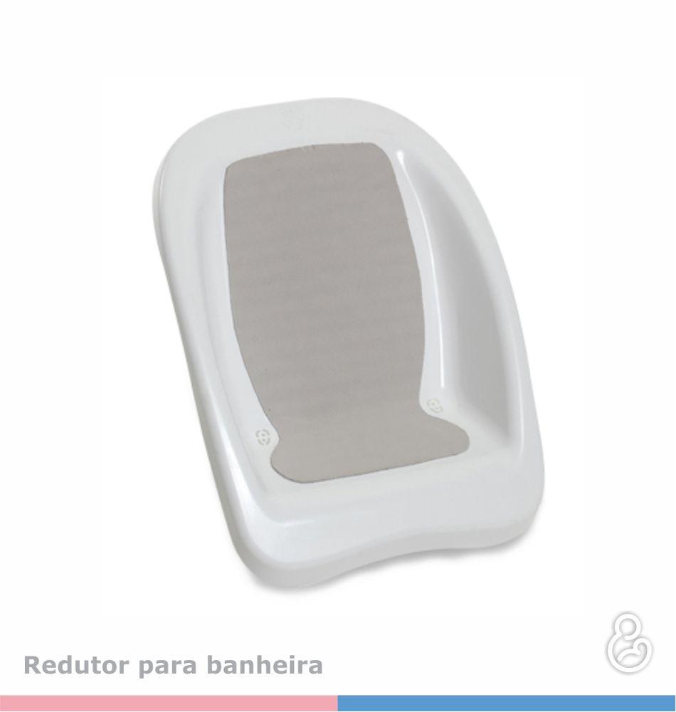 ASSENTO REDUTOR BRANCO PARA BANHEIRA RIGIDA - GALZERANO