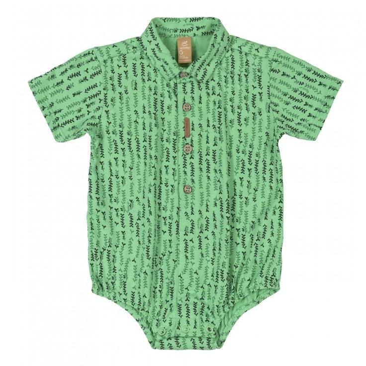 BODY MASCULINO CAMISA CORES VARIADAS - UP BABY