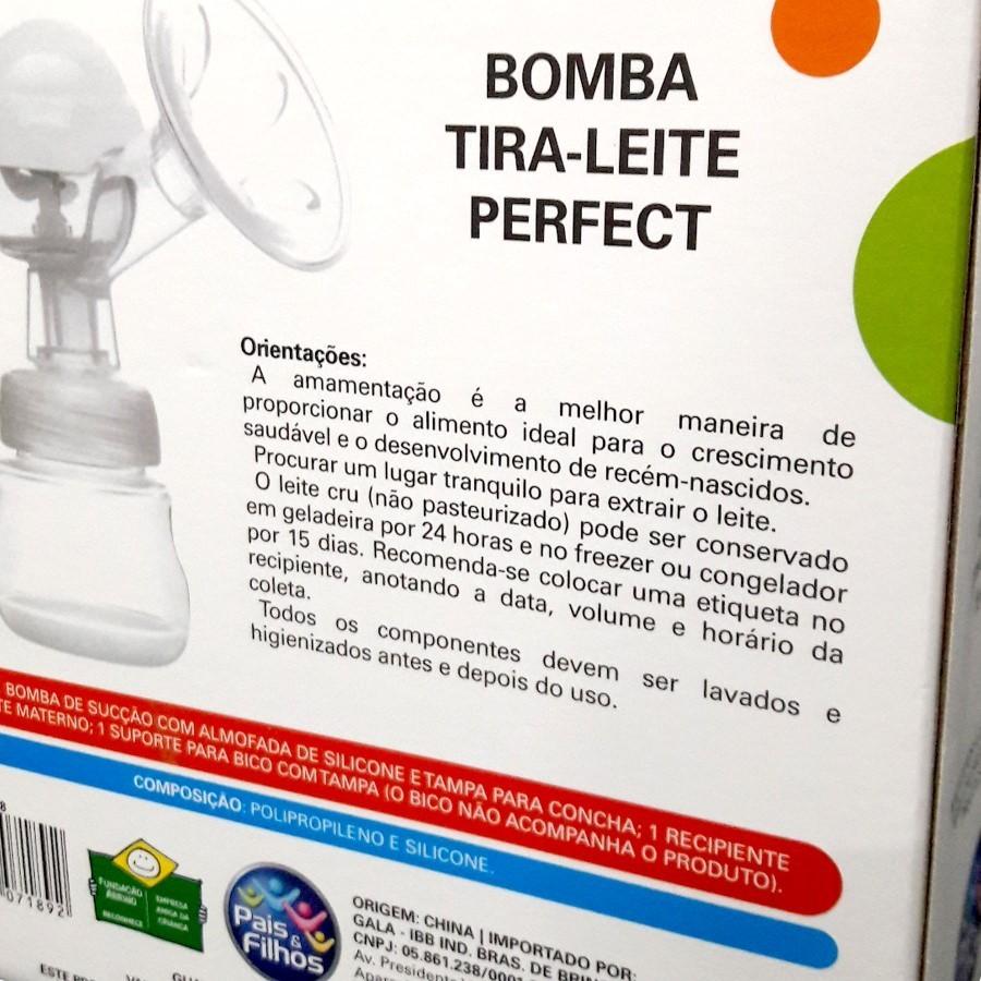 BOMBINHA TIRA-LEITE PERFECT