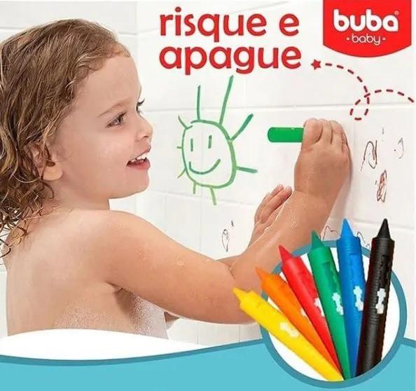 BRINQUEDO RISQUE E APAGUE COM ESPONJA - BUBA