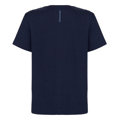 CAMISETA MASCULINA ESTAMPA 'WE FOLLOW OUR MOOD' AZUL MARINHO - Calvin Klein