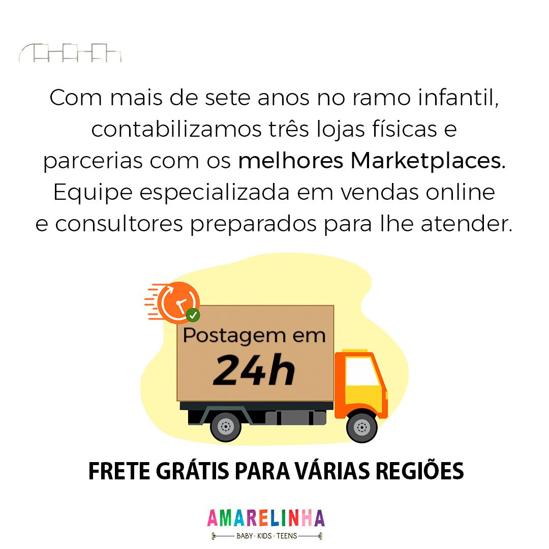 CARRINHO DE BEBÊ 3 RODAS CROSS TRAIL PRETO - GALZERANO