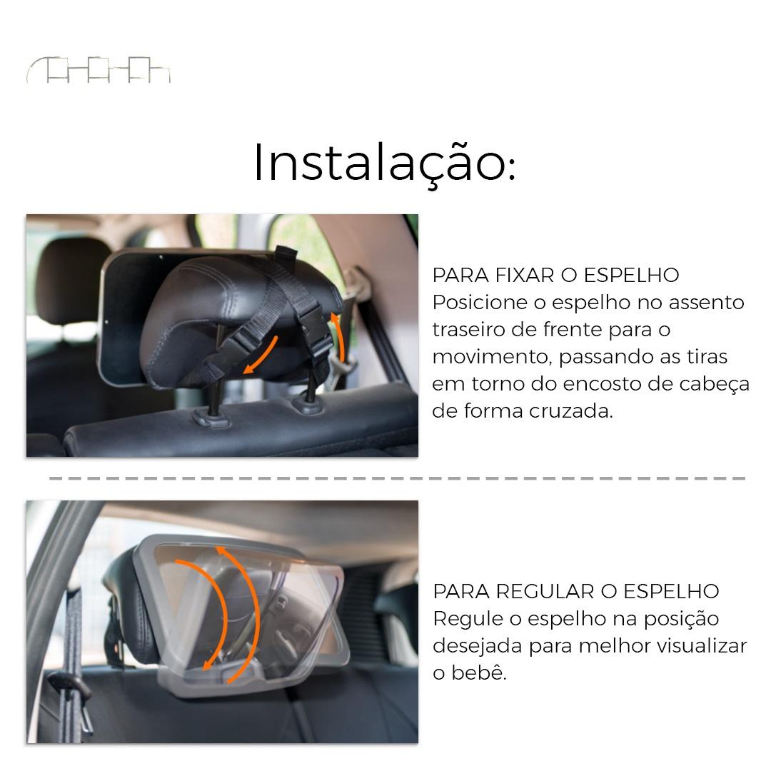 ESPELHO PARA CARRO HOWDY - KIDDO