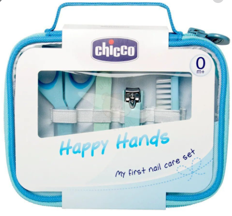 CONJUNTO DE MANICURE HAPPY HANDS MENINO - CHICCO