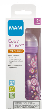 MAMADEIRA EASY ACTIVE ROSA 270ML - MAM