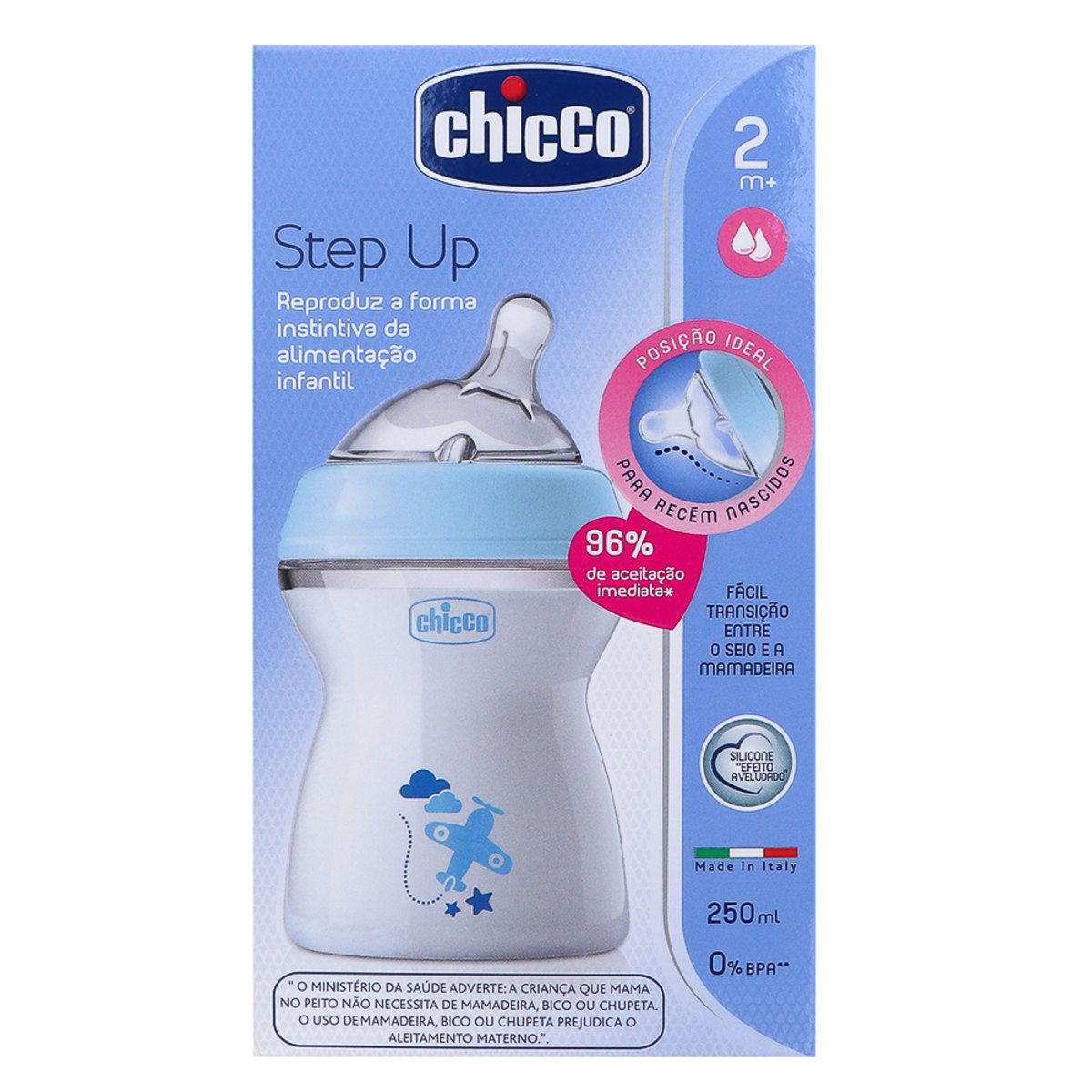 MAMADEIRA STEP UP 250 AZUL - CHICCO