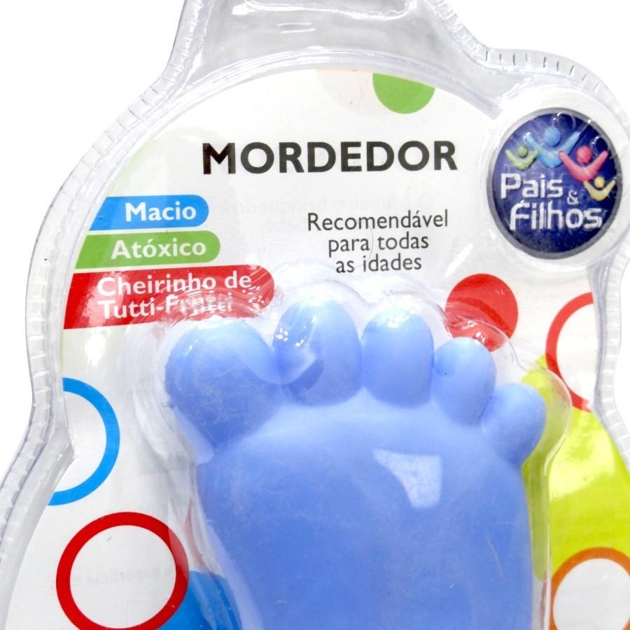 MORDEDOR PEZINHO FOR BABY AZUL