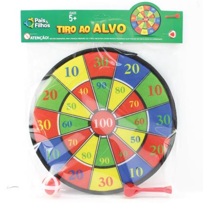 TIRO AO ALVO COM VELCRO - PAISFILHOS