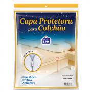 Capa Protetora Para Colchão Com Zíper Solteiro Ref 964
