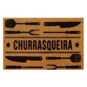 Capacho Vinil Super Print 40X75cm Churrasqueir