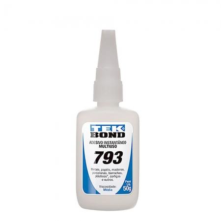 Cola Adesiva Tekbond 793 Bico Antientupimento 50G
