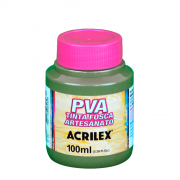 Tinta Fosca Para Artesanato Acrilex Verde Oliva 100ml