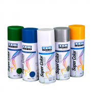 Tinta Spray Super Color Tekbond Alumínio Uso Geral 350ml