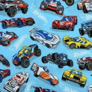 Tricoline Licenciado Est 2165 Hot Wheels 03 - 1x1,5 m