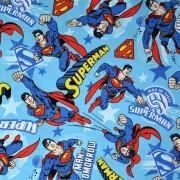 Tricoline Licenciado Est 2166 Superman 12 - 1x1,5 m
