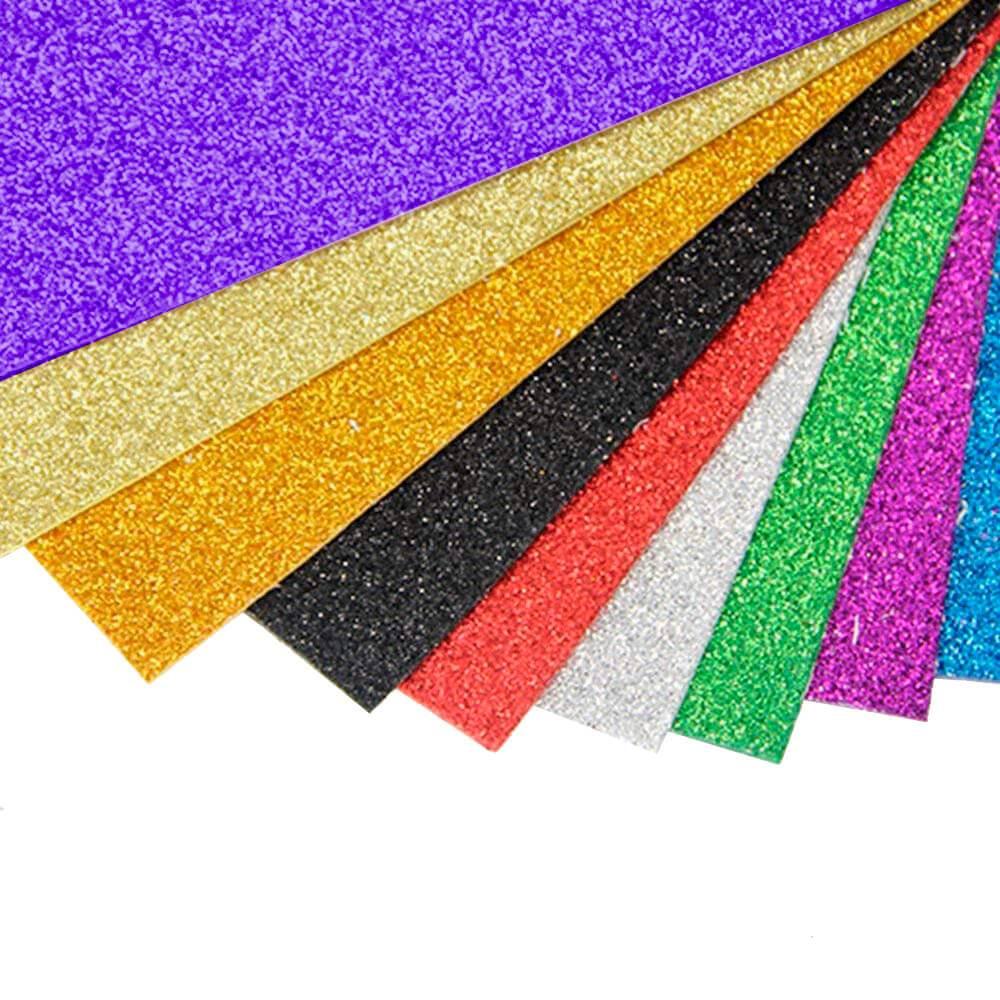 Borracha Eva Com Glitter 40X60X2mm