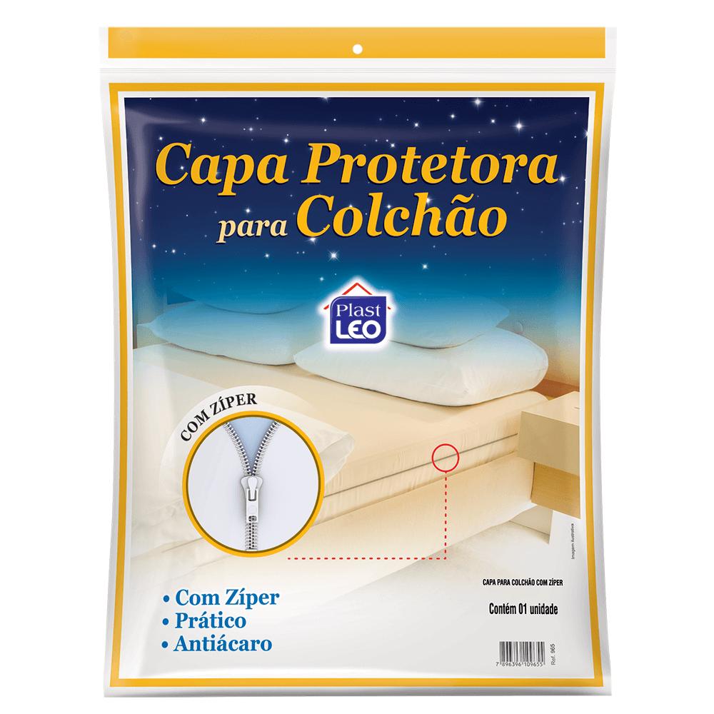 Capa Protetora Para Colchão Com Zíper Solteiro