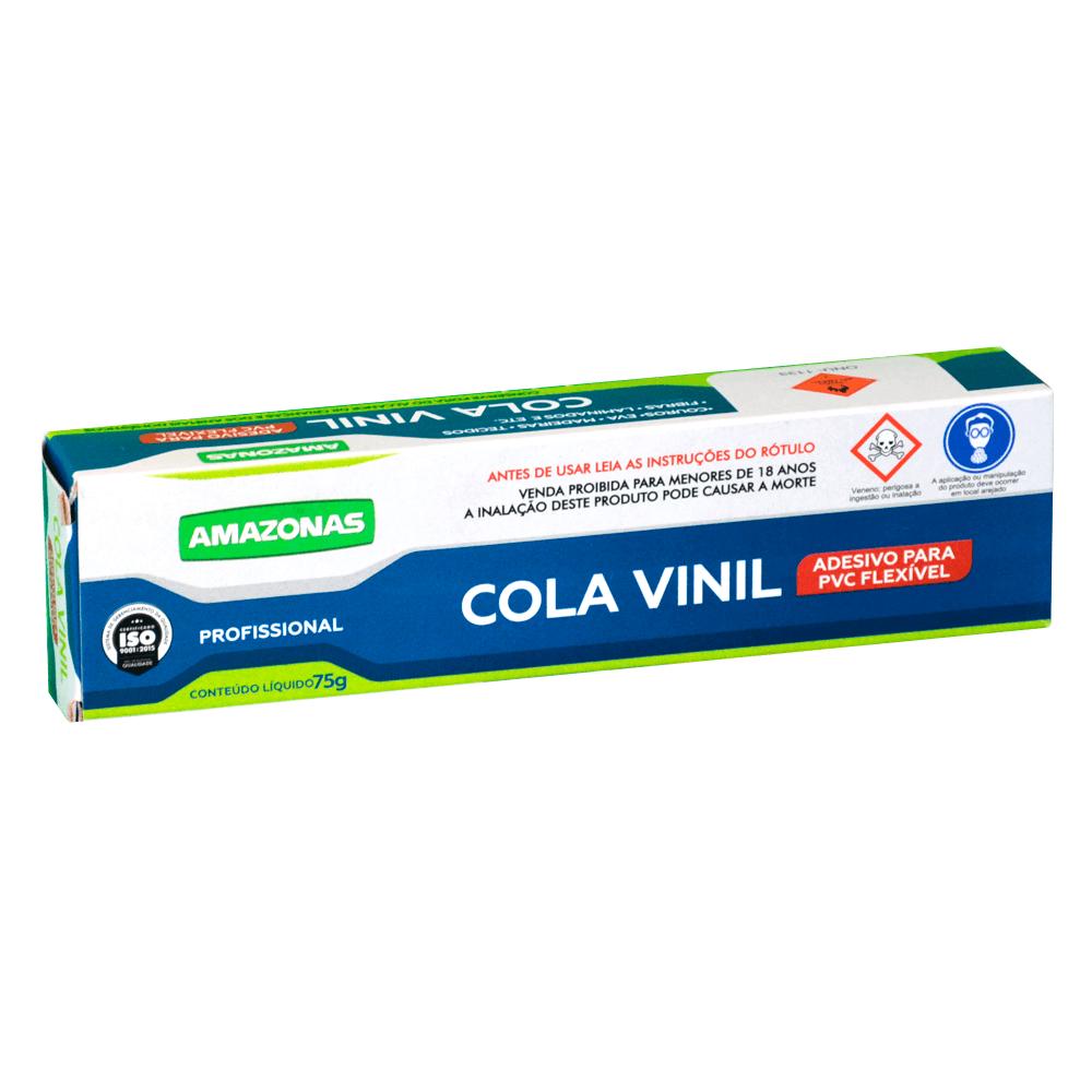 Cola Adesiva De Vinil 75G Amazonas