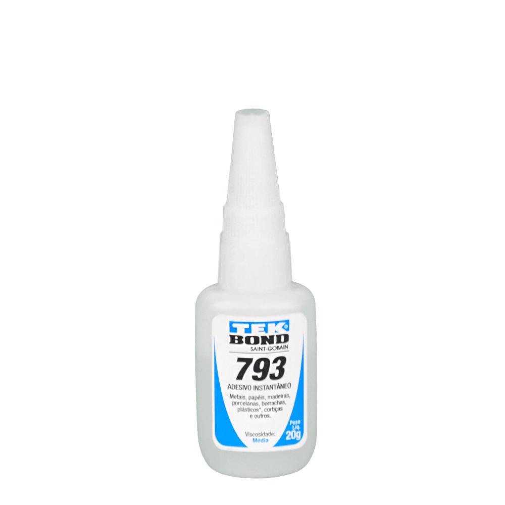 Cola Adesiva Tekbond 793Bico Antientupimento 20G
