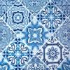 atoalhado azulejo azul