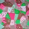 atoalhado patchwork colorido