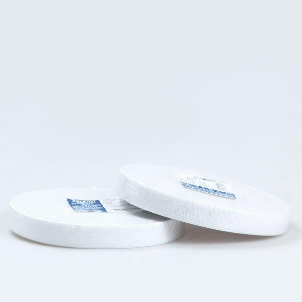 Elástico Poliéster 20mm Branco Zanotti