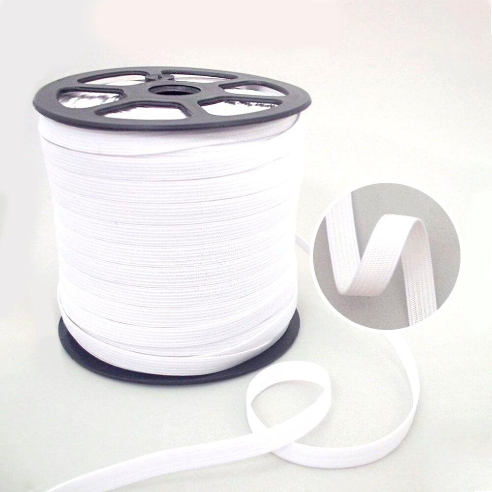 Elástico Poliéster 35mm Branco Zanotti