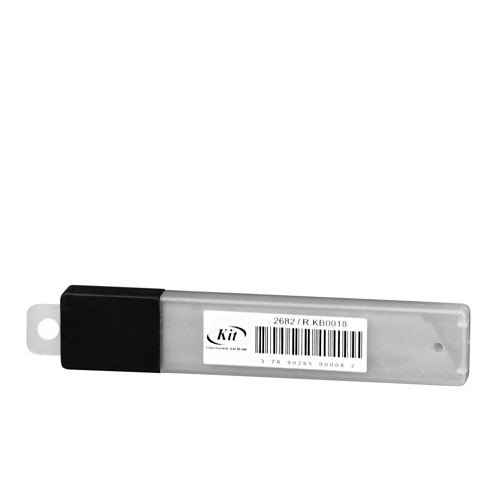 Lamina Para Estilete Larga Kit Kb-0018 C/10Un