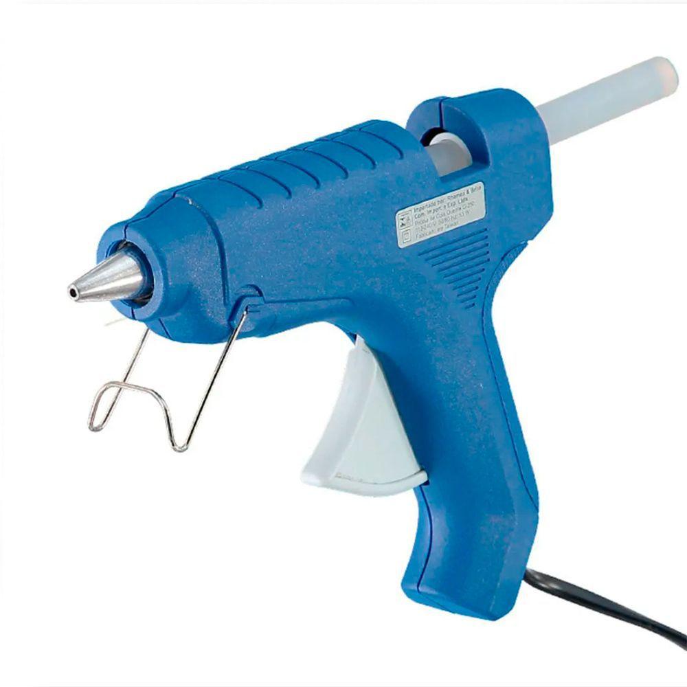 Pistola Para Cola Quente G 250 Azul