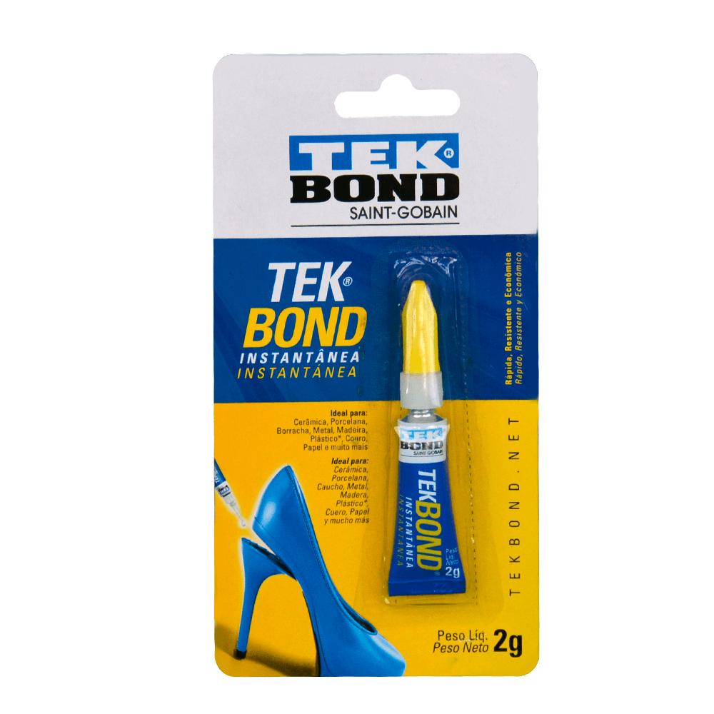 Super Cola Para Artesanato Instantânea 2G Blister Tek Bond