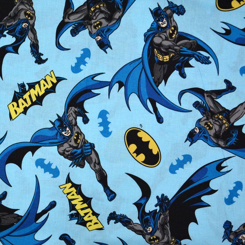 Tricoline Licenciado Est 2167 Batman 09 - 1x1,5 m