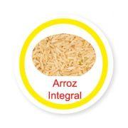Ficha metálica de alimentos Arroz Integral
