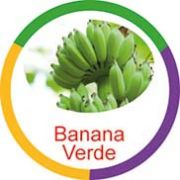 Ficha metálica de alimentos Banana Verde