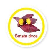 Ficha metálica de alimentos Batata Doce