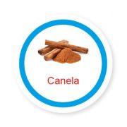 Ficha metálica de alimentos Canela