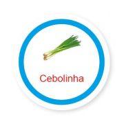 Ficha metálica de alimentos Cebolinha