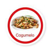 Ficha metálica de alimentos Cogumelo