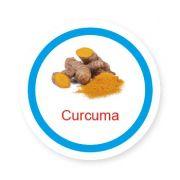 Ficha metálica de alimentos Curcuma