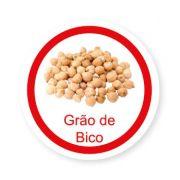 Ficha metálica de alimentos Grão de Bico