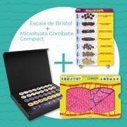Kit 01 - Escala de Bristol + Microbiota Combate Compact