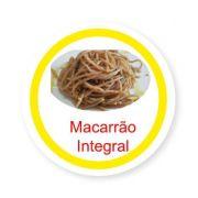 Ficha metálica de alimentos Macarrão Integral
